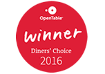 Diners' Choice Winner 2016