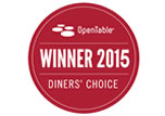 Diners' Choice Winner 2015