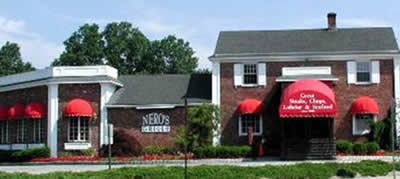 Nero's Grille Exterior, Livingston, NJ